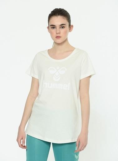 Hummel Kadın Browst Tişört 910673-9003 Beyaz